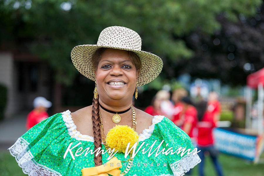 Panama Folklore, Auburn Days Parade 2017, Auburn, WA, USA.