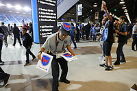 San Jose, CA - Wednesday September 19, 2018: Fans, #WondoWatch prior to a Major League Soccer (MLS) match between the San Jose Earthquakes and Atlanta United FC at Avaya Stadium.