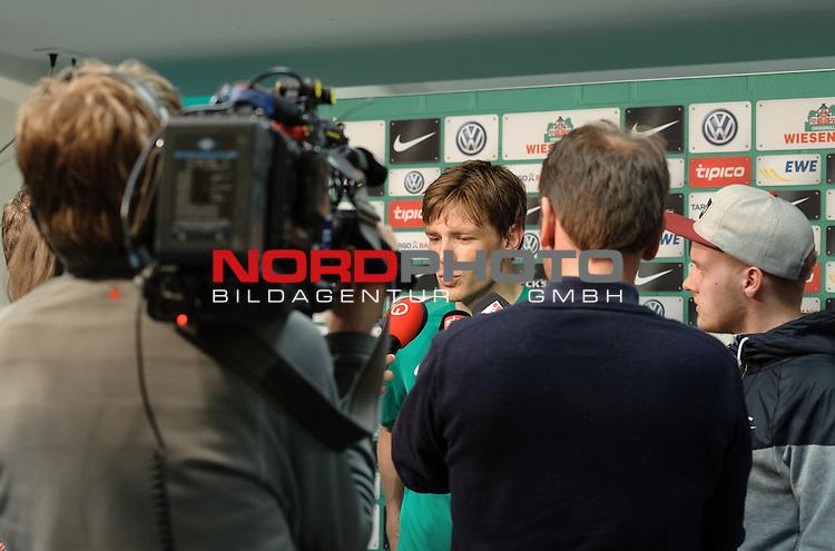 05.05.2015, Weserstadion, Bremen, GER, 1.FBL, Werder Bremen Clemens Fritz, im Bild Clemens Fritz (Bremen #8)<br /> <br /> Foto &copy; nordphoto / Frisch