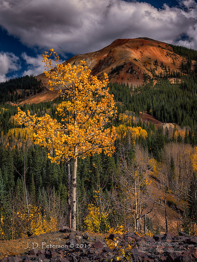Aspen and Red Mountain, Colorado