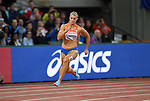 Dafne SCHIPPERS (NED) in the womens 200m heats. IAAF world athletics championships. London Olympic stadium. Queen Elizabeth Olympic park. Stratford. London. UK. 08/08/2017. ~ MANDATORY CREDIT Garry Bowden/SIPPA - NO UNAUTHORISED USE - +44 7837 394578