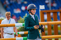 IRL-Susannah Berry walks the course for the SAP Cup - CICO4*-S Nations Cup Eventing Showjumping. 2019 GER-CHIO Aachen Weltfest des Pferdesports. Friday 19 July. Copyright Photo: Libby Law Photography