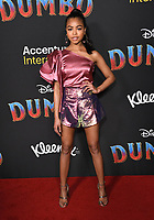 11 March 2019 - Hollywood, California - Navia Robinson. &quot;Dumbo&quot; Los Angeles Premiere held at Ray Dolby Ballroom. Photo <br /> CAP/ADM/BT<br /> &copy;BT/ADM/Capital Pictures