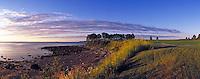 Samoset Golf Resort - hole #3 with Atlantic Coast. Rockport Maine United States Samoset Golf Resort.