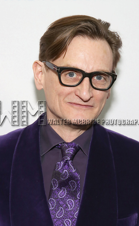 Hamish Bowles attends the Broadway Opening Night Performance of 'War Paint' at the Nederlander Theatre on April 6, 2017 in New York City
