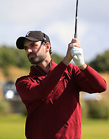 David O'Driscoll (Ballybunion) on the 1st tee during the Munster Final of the AIG Senior Cup at Tralee Golf Club, Tralee, Co Kerry. 12/08/2017<br /> <br /> Picture: Golffile | Thos Caffrey<br /> <br /> All photo usage must carry mandatory copyright credit     (&copy; Golffile | Thos Caffrey)