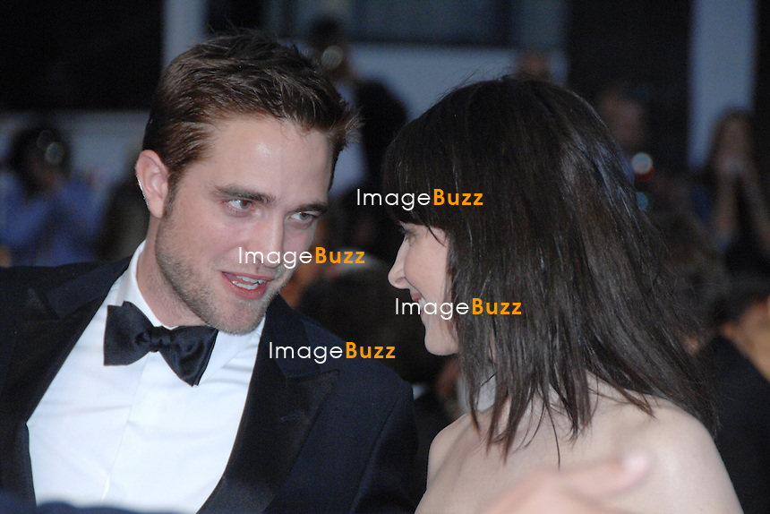 """Juliette Binoche Robert Pattinson  - """" Cosmopolis """" premiere at the 65th Cannes Film Festival at the Palais des Festivals..France - Cannes, May 25th, 2012."""