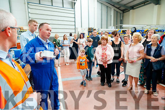 Factory tour of the Dairymaster factory in Causeway on Sunday.