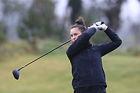 Aine Donegan (LaHinch) on the 1st tee during Round 1 of the Irish Girls U18 Open Stroke Play Championship at Roganstown Golf &amp; Country Club, Dublin, Ireland. 05/04/19 <br /> Picture:  Thos Caffrey / www.golffile.ie