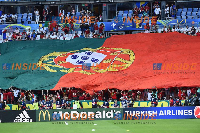 Tifosi Portogallo Portugal supporters<br /> Paris 10-07-2016 Stade de France Football Euro2016 Portugal - France / Portogallo - Francia Finale / Final<br /> Foto Massimo Insabato / Insidefoto