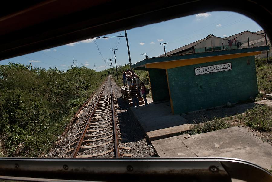 On the train from Regla to Hershey near Havana, Cuba.