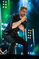 08 June 2019 - Nashville, Tennessee - Brett Young. 2019 CMA Music Fest Nightly Concert held at Nissan Stadium. Photo Credit: Frederick Breedon/AdMedia