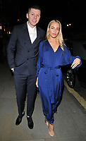 Professor Green (Stephen Paul Manderson) and Fae Williams at the GQ Car Awards 2018, Corinthia Hotel, Whitehall Place, London, England, UK, on Monday 05 February 2018.<br /> CAP/CAN<br /> &copy;CAN/Capital Pictures