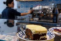 Kuchen in der Alpenkantine, Osterstr. 98Hamburg-Eimsb&uuml;ttel, Deutschland, Europa<br /> Cake in the Alpenkantine, Osterstr. 98Hamburg-Eimsb&uuml;ttel, Germany, Europe