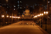 São Paulo SP,19.03.2016 - Campanha WWF - Museu Paulista e  Monumento do Ipiranga no Bairro do Ipiranga Zona Sul de SP,vistos com as luzes acesas  não aderiram a campanha da WWF em  apagar as luzes por 1 Hora   .Foto:( Carlos Pessuto/Brazil Photo Press)