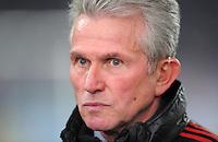 FUSSBALL   DFB POKAL   SAISON 2011/2012   VIERTELFINALE VfB Stuttgart - FC Bayern Muenchen                      08.02.2012 Trainer Jupp Heynckes  (FC Bayern Muenchen)