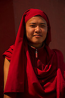Buddhist monk in Sikkim India
