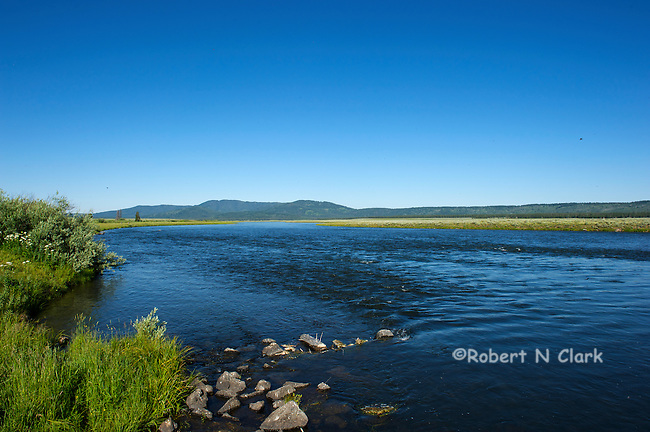 The Henry's Fork of the Snake River near Last Chance, Idaho