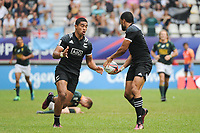 Salesi Rayasi of New Zealand during the Semi Final match between New Zealand and South Africa at the HSBC Paris Sevens, stage of the Rugby Sevens World Series at Stade Jean Bouin on June 10, 2018 in Paris, France. (Photo by Sandra Ruhaut/Icon Sport)