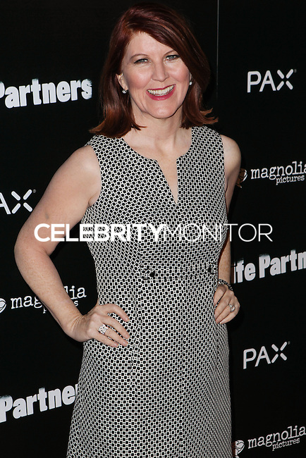 HOLLYWOOD, LOS ANGELES, CA, USA - NOVEMBER 18: Kate Flannery arrives at the Los Angeles Special Screening Of Magnolia Pictures' 'Life Partners' held at Arclight Hollywood on November 18, 2014 in Hollywood, Los Angeles, California, United States. (Photo by Rudy Torres/Celebrity Monitor)