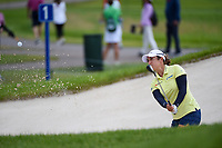 Marina Alex (USA) hits from the trap on 1 during the round 3 of the KPMG Women's PGA Championship, Hazeltine National, Chaska, Minnesota, USA. 6/22/2019.<br /> Picture: Golffile | Ken Murray<br /> <br /> <br /> All photo usage must carry mandatory copyright credit (© Golffile | Ken Murray)