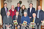 Renowned journalist and writer Donal Hickey launched the new Fossa and Aghadoe 'Our History and Heritage' book in the Travel Inn Fossa on Sunday evening front row l-r: Michael Spillane, Donal Hickey, John Cronin and Michael Doyle. Back row: Pat O'Brien, Neilus Moriarty, Larry Daly, Marie Murphy, James Houlihan and Donal O'Reilly ......