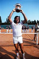 Guillermo Volas (Arg) Monte Carlo OPen 1982