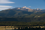 view from Horseshoe Park, Rocky Mountain National Park, Colorado