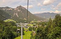 Blick aus der Jenner-Seilbahn - Berchtesgaden 17.07.2019: Fahrt auf den Jenner