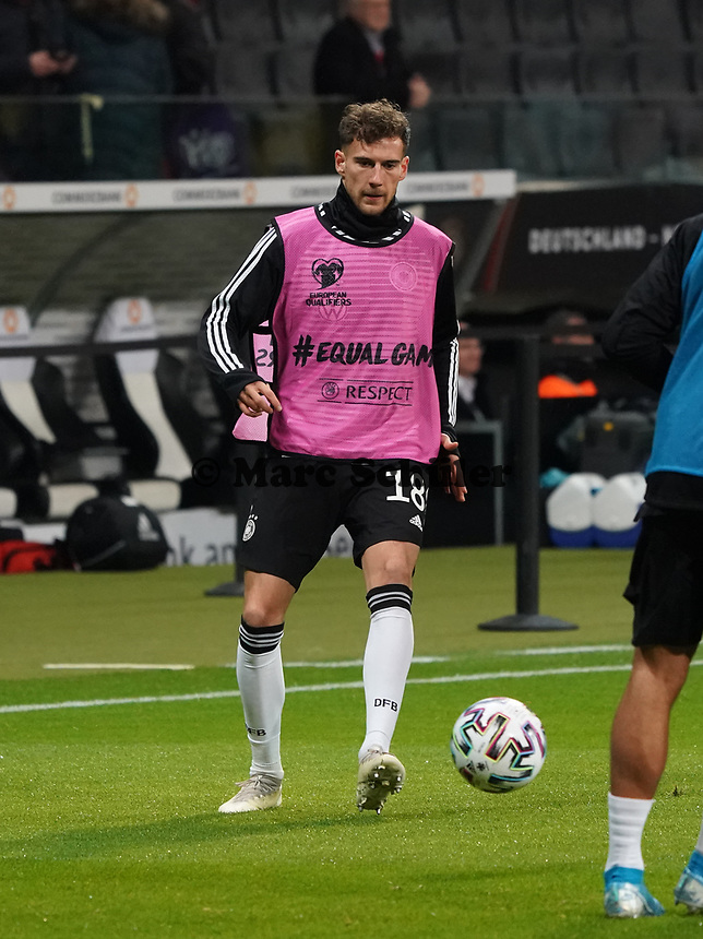 Leon Goretzka (Deutschland, Germany) - 19.11.2019: Deutschland vs. Nordirland, Commerzbank Arena Frankfurt, EM-Qualifikation DISCLAIMER: DFB regulations prohibit any use of photographs as image sequences and/or quasi-video.