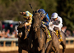 OCT 05: Maxfield races with Jose Ortiz in the Claiborne Breeders Futurity Stakes at Keeneland Racecourse, Kentucky on October 05, 2019. Evers/Eclipse Sportswire/CSM