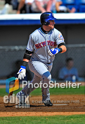 10 March 2009: New York Mets' outfielder Ryan Church in action during a Spring Training game against the Washington Nationals at Space Coast Stadium in Viera, Florida. The Nationals and Mets tied 5-5 in the 10-inning Grapefruit League matchup. Mandatory Photo Credit: Ed Wolfstein Photo