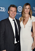 LOS ANGELES, CA - JANUARY 05: Josh Brolin (L) and Kathryn Boyd attend Michael Muller's HEAVEN, presented by The Art of Elysium at a private venue on January 5, 2019 in Los Angeles, California.<br /> CAP/ROT/TM<br /> &copy;TM/ROT/Capital Pictures