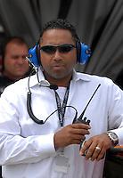 May 4, 2007; Richmond, VA, USA; DEI president Max Siegel during practice for the Jim Stewart 400 at Richmond International Raceway. Mandatory Credit: Mark J. Rebilas