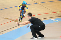Picture by SWpix.com - 03/03/2018 - Cycling - 2018 UCI Track Cycling World Championships, Day 4 - Omnisport, Apeldoorn, Netherlands - Women's 500m Time Trial - Olena Starikova of Ukraine