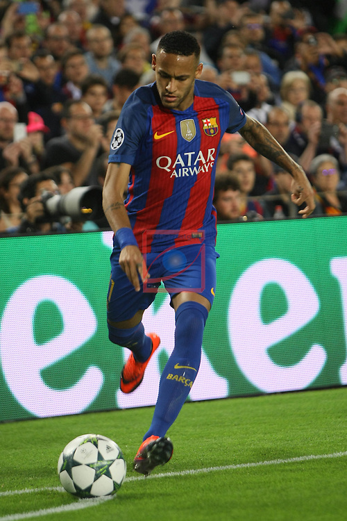 UEFA Champions League 2016/2017 - Matchday 3.<br /> FC Barcelona vs Manchester City FC: 4-0.<br /> Neymar Jr