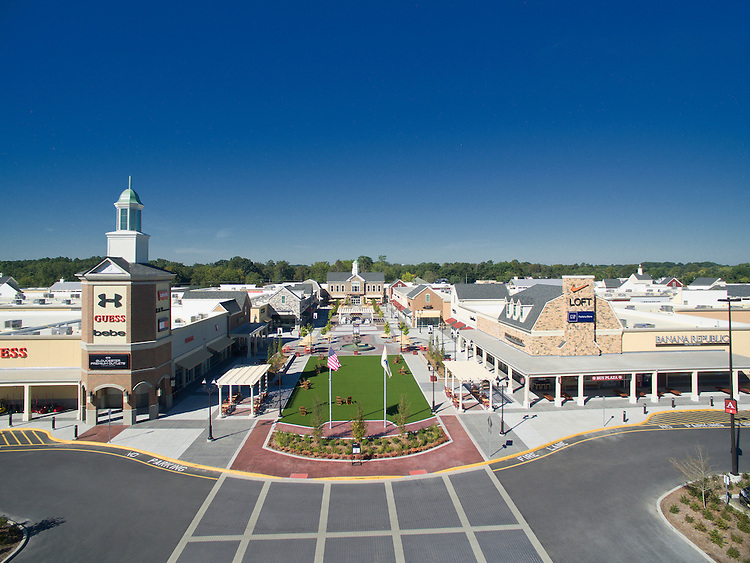 Gloucester Premium Outlets Aerial Photography | FRCH Design Worldwide