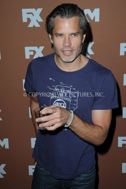 WWW.ACEPIXS.COM . . . . . .March 28, 2013...New York City....Timothy Olyphant attends the 2013 FX Upfront Bowling Event at Luxe at Lucky Strike Lanes on March 28, 2013 in New York City ....Please byline: KRISTIN CALLAHAN - ACEPIXS.COM.. . . . . . ..Ace Pictures, Inc: ..tel: (212) 243 8787 or (646) 769 0430..e-mail: info@acepixs.com..web: http://www.acepixs.com .
