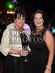 Maria Clarke and Deborah Sharkey at the ABACAS Valentine Ball at the Westcourt Hotel. Photo:Colin Bell/pressphotos.ie