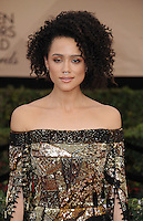 www.acepixs.com<br /> <br /> January 29 2017, LA<br /> <br /> Nathalie Emmanuel arriving at the 23rd Annual Screen Actors Guild Awards at The Shrine Expo Hall on January 29, 2017 in Los Angeles, California<br /> <br /> By Line: Peter West/ACE Pictures<br /> <br /> <br /> ACE Pictures Inc<br /> Tel: 6467670430<br /> Email: info@acepixs.com<br /> www.acepixs.com