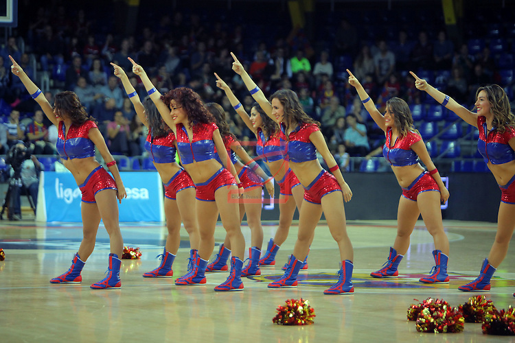 League ACB-ENDESA 2016/2017. Game: 5.<br /> FC Barcelona Lassa vs BEP-Real Betis Energia Plus: 80-58.<br /> Dream Cheers.
