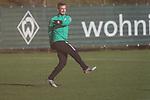 17.01.2020, Trainingsgelaende am wohninvest WESERSTADION,, Bremen, GER, 1.FBL, Werder Bremen Training ,<br /> <br /> <br />  im Bild<br /> <br /> Fin Bartels (Werder Bremen #22)<br /> <br /> <br /> Foto © nordphoto / Kokenge