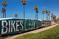 Metrolink Train Passing Through San Clemente California