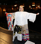 Jennifer Foote during the Actors' Equity Gypsy Robe Ceremony honoring Katie Webber for  'Charlie and the Chocolate Factory' at the Lunt-Fontanne Theatre on April 23, 2017 in New York City.