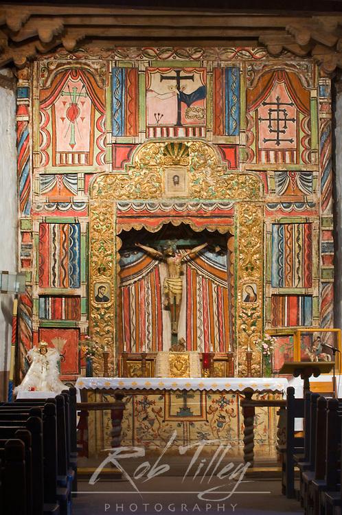 USA, NM, Chimayo, Santuario de Chimayo Altar