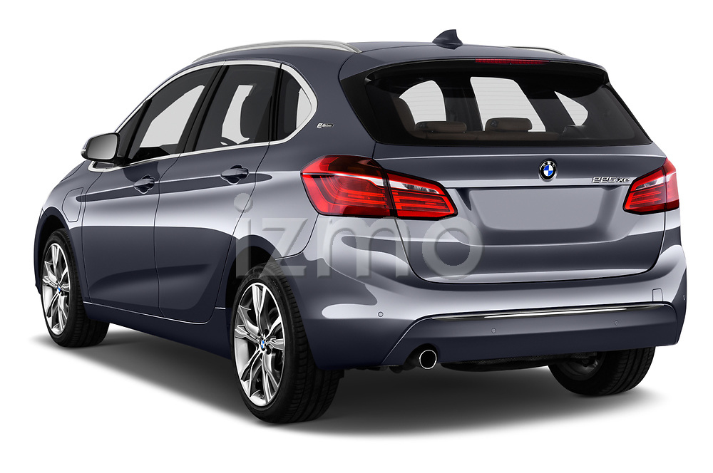 Car pictures of rear three quarter view of 2017 BMW 2-Series-Active-Tourer Luxury 5 Door Mini MPV Angular Rear