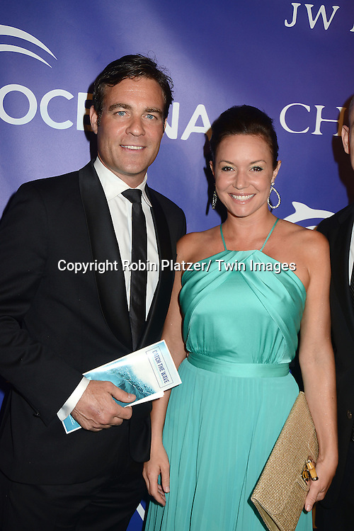 Crispin Baynes and Summer Osterman  attend the Inaugural Oceana Ball on April 8,2013 at Christie's in New York City.