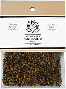 20603 Shelled Cardamom, Caravan 1 oz, India Tree Storefront