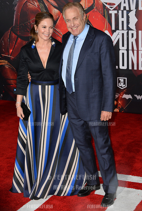 Diane Lane &amp; Charles Roven at the world premiere for &quot;Justice League&quot; at The Dolby Theatre, Hollywood. Los Angeles, USA 13 November  2017<br /> Picture: Paul Smith/Featureflash/SilverHub 0208 004 5359 sales@silverhubmedia.com