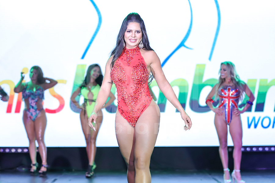 CIDADE DO MÉXICO, MÉXICO, 30.09.2019 - MISS-BUMBUM - Shirley Correa durante a final do concurso Miss Bumbum World na  ForoTotal Play na Cidade do México na capital mexicana nesta segunda-feira, 30.  (Foto: William Volcov/Brazil PhotoPress)